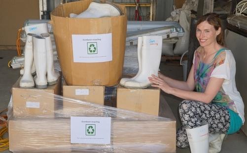 Aotearoa Fisheries – Gumboots Kick Off Sustainability Initiative, November 2015