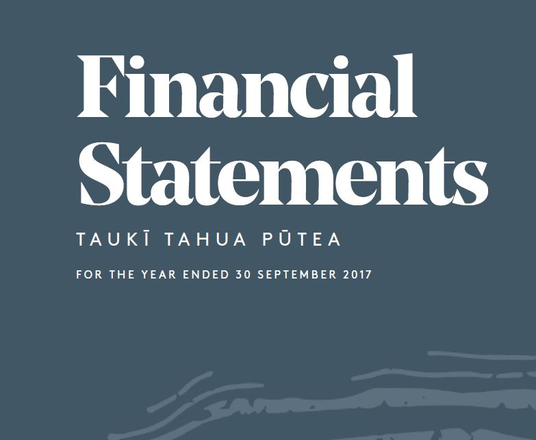 Moana New Zealand Financial Statements